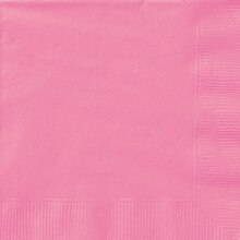 Hot Pink Luncheon Napkins, 20ct