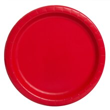 "9"" Red Party Plates, 16ct"