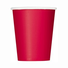 9oz Red Paper Cups, 14ct