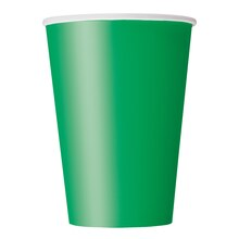 9oz Green Paper Cups, 14ct