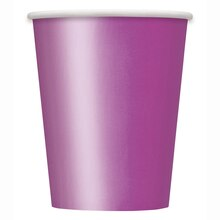 9oz Purple Paper Cups, 14ct