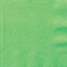 Lime Green Luncheon Napkins, 50ct