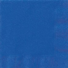 Royal Blue Luncheon Napkins, 50ct