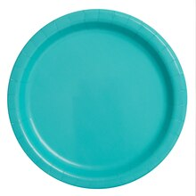 "9"" Teal Party Plates, 50ct"