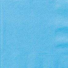 Light Blue Luncheon Napkins, 50ct