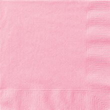 Light Pink Luncheon Napkins, 50ct