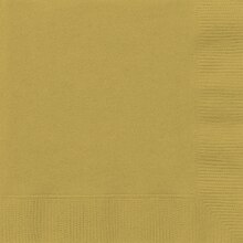 Gold Luncheon Napkins, 50ct
