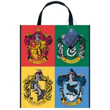 "Large Plastic Harry Potter Goodie Bag, 13"" x 11"""