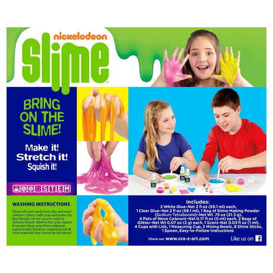 shop for the cra z art nickelodeon slime kit scented glitter at michaels. Black Bedroom Furniture Sets. Home Design Ideas