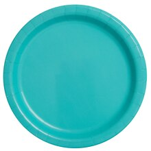 "9"" Teal Party Plates, 16ct"