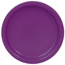 "9"" Dark Purple Party Plates, 16ct"