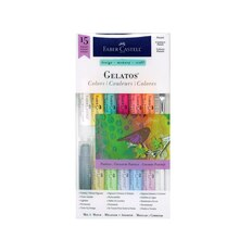 Faber-Castell Design Memory Craft Gelatos, Pastels