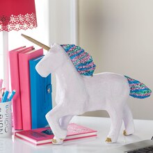 Rainbow Glitter Unicorn, medium
