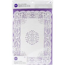 Wilton Rectangle Grease-Proof Doilies, Packaging
