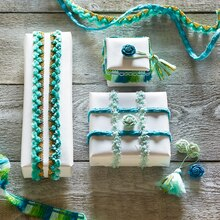 Passementerie Trim Gift Wrap, medium