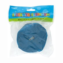Crepe Paper Turquoise Streamers, 81 Ft. Packaged