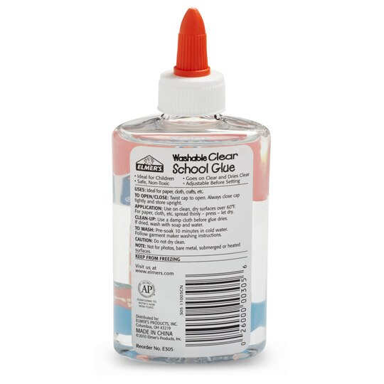 Find the Elmer's® Washable Clear School Glue, 9oz. at Michaels