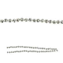 Bead Gallery Silver Plated Round Cut Beads Closed