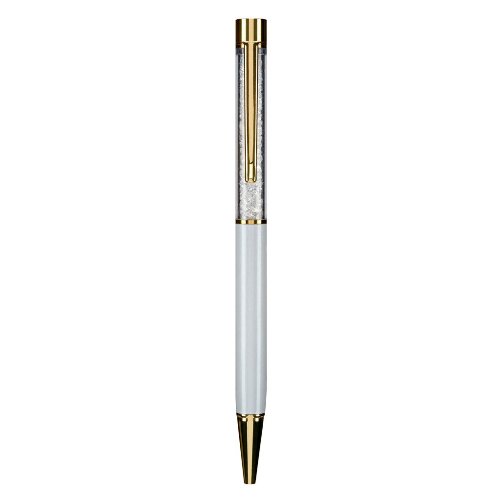 Buy the White Gem Ball Point Pen By Recollections™ at Michaels