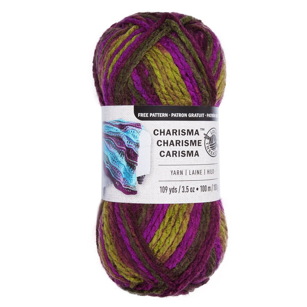 Think Pink Charisma Loops And Threads Yarn This Bulky Solid