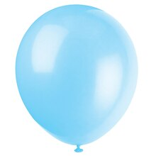 "9"" Latex Baby Blue Balloons, 20ct"