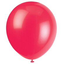 """9"""" Latex Red Balloons, 20ct"""