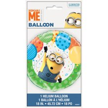 """Foil Despicable Me Minions Balloon, 18"""" Packaged"""