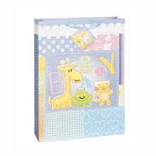Large Animals Baby Shower Gift Bag