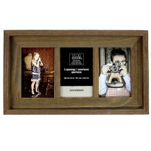 barnwood 3 opening collage frame 4 - Window Pane Picture Frame