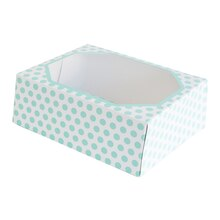 Teal Printed Treat Boxes By Celebrate It