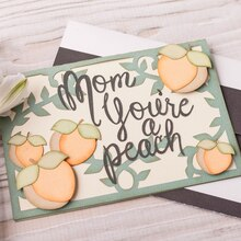 Mom's a Peach Card, medium