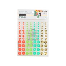 Tropical Sequin Stickers By Recollections