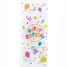 Birthday Blast Cellophane Bags, 20ct