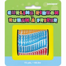 Happy Birthday Curling Ribbon, 75 Yd. Package