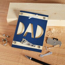 "Father's Day ""Dad"" Cutout, medium"