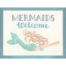 Dimensions Cathy Heck Studio Embroidery Kit, Mermaids Welcome