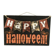 Happy Halloween Wooden Banner Sign By Ashland