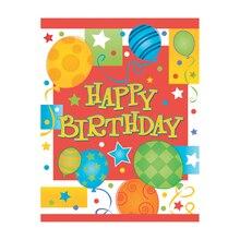 Happy Birthday Invitations, 8ct
