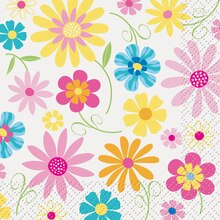 Bright Blooms Cocktail Napkins, 24ct