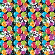 Bravo Birthday Wrapping Paper