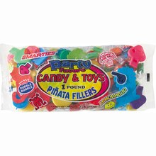 Pinata Filler with Assorted Candy and Favors, 1lb