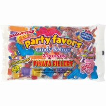 Piñata Filler with Assorted Candy and Favors, 2lb, medium