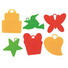 Plastic Balloon Weights, Assorted 144ct