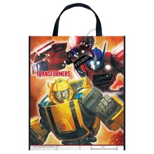 "Large Plastic Transformers Favor Bag, 13"" x 11"""