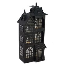 black haunted townhouse by ashland - Halloween Candles