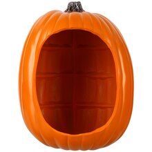 "13"" Orange Diorama Craft Pumpkin By Ashland"