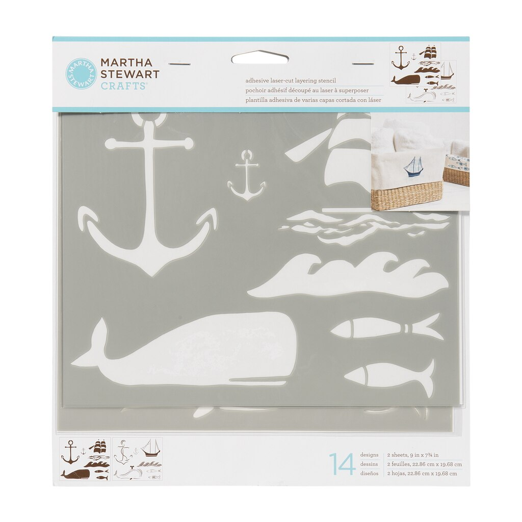 Find The Martha Stewart Craftsa Adhesive Laser Cut Layering Stencils