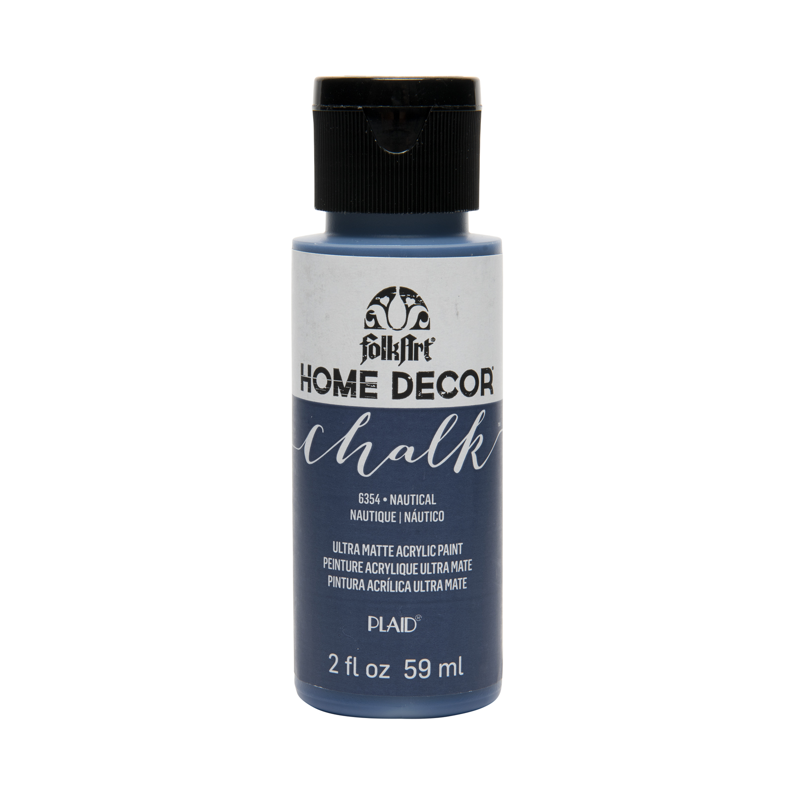 FolkArt Home Decor Chalk Paint, 2oz. Nautical