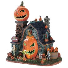 Lemax Spooky Town The Mad Pumpkin Patch