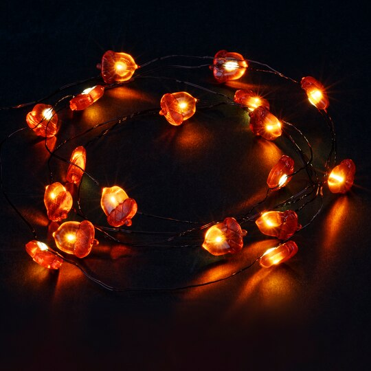 Shop For The Acorn LED String Lights By Ashland® At Michaels - Michaels Christmas Lights